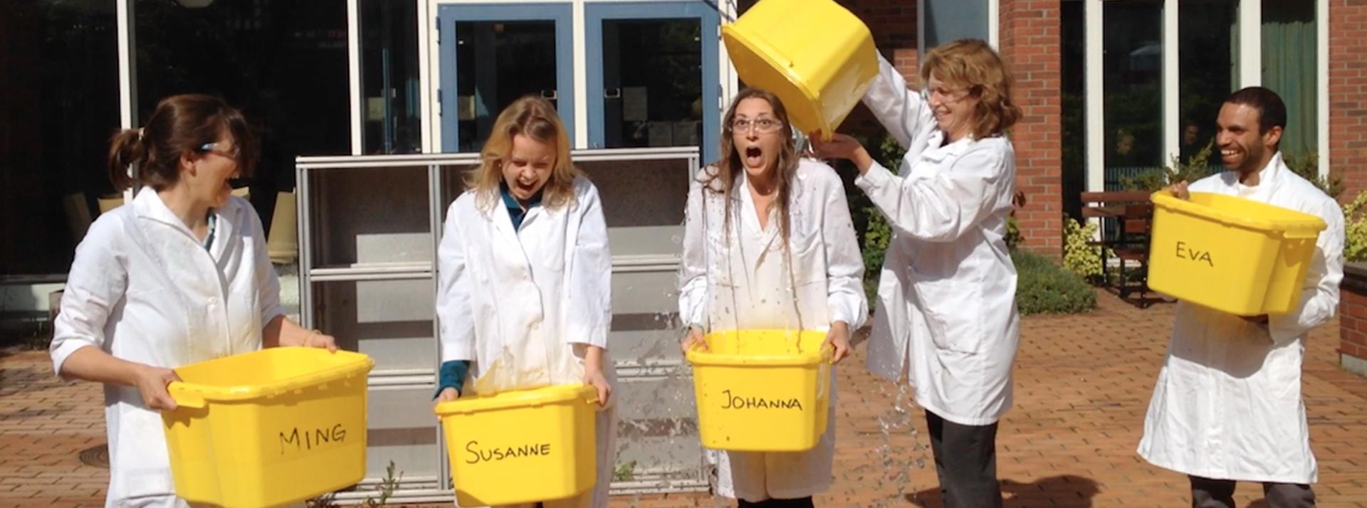 Ice Bucket Challenge européen